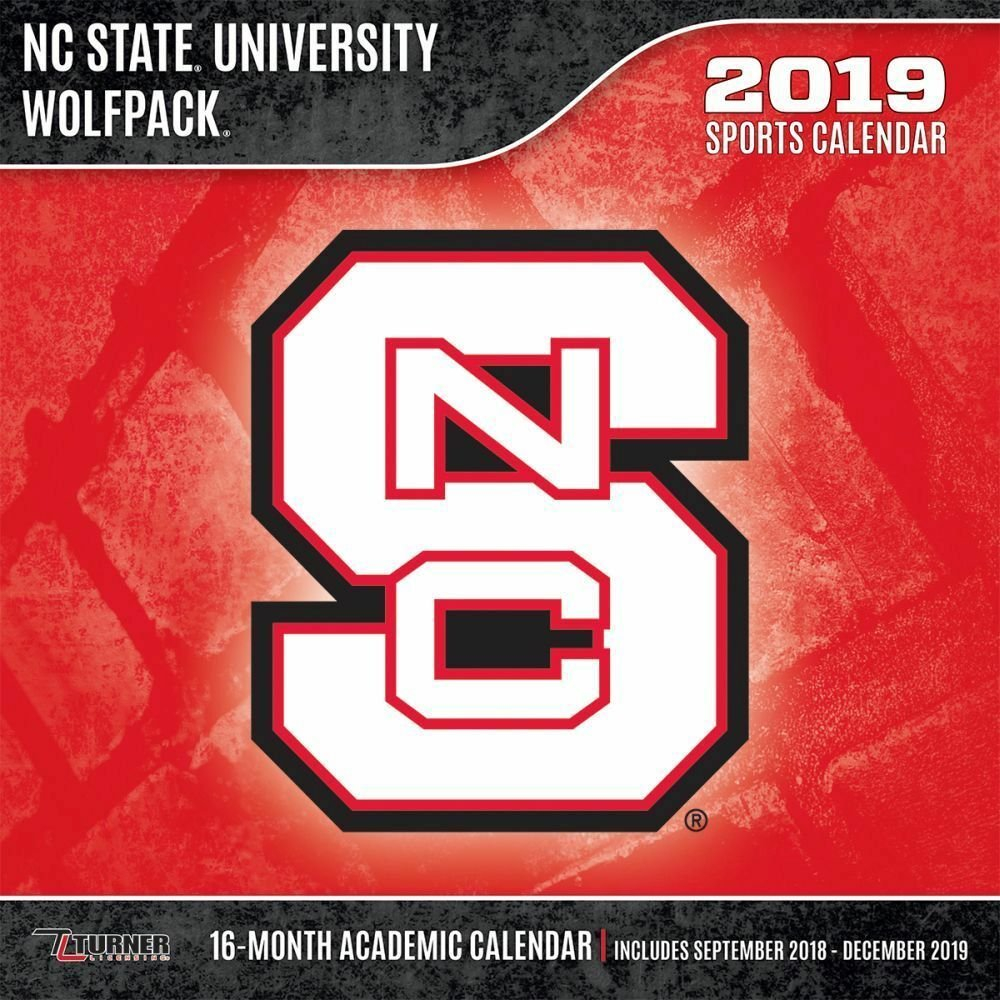 Nc State Wolfpack 2019 Calendarlang Holdings Inc. 9781469359762 Calendar 2019 Ncsu