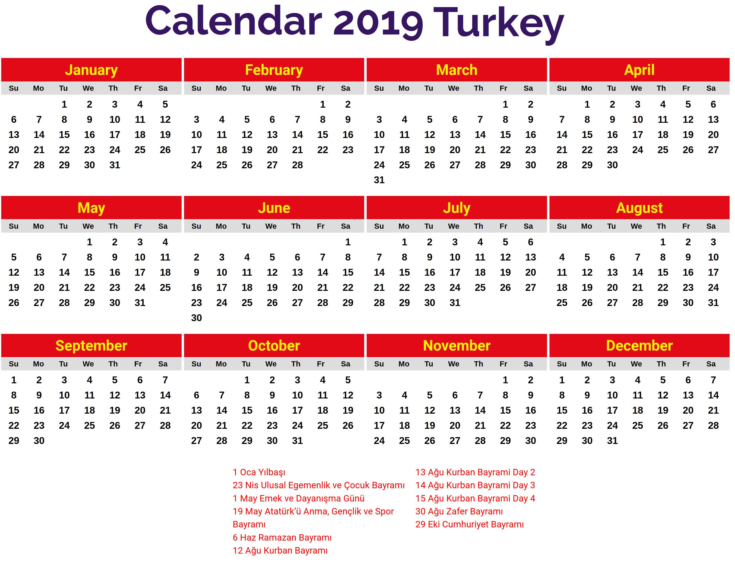 Printable Calendar 2019 Australia | 2019 Printable Calendars | Free U Of A Calendar 2019