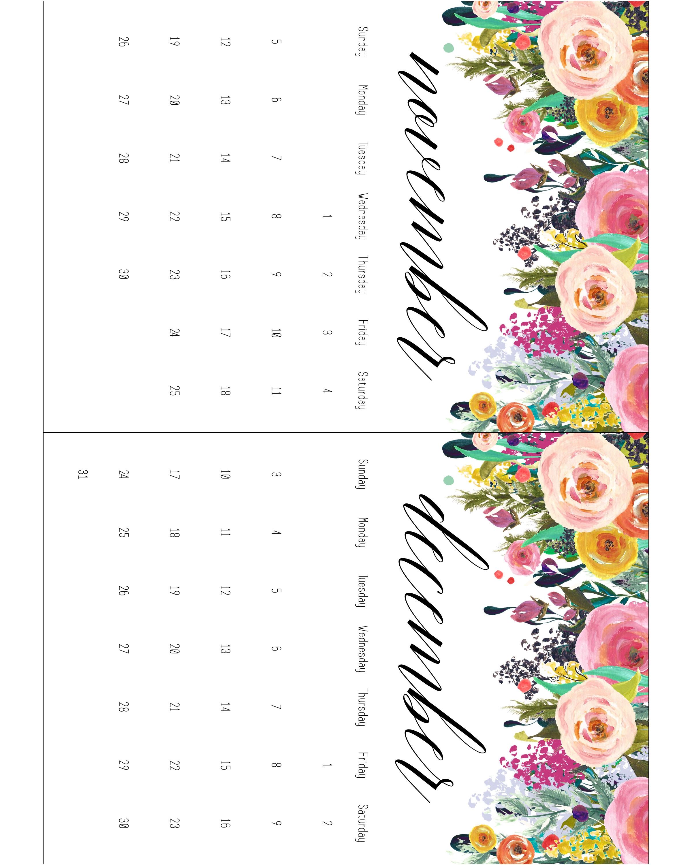 Printable Calendar 5 X 7 | Printable Calendar 2019-57 Printable 5 X 7 2019 Calendar