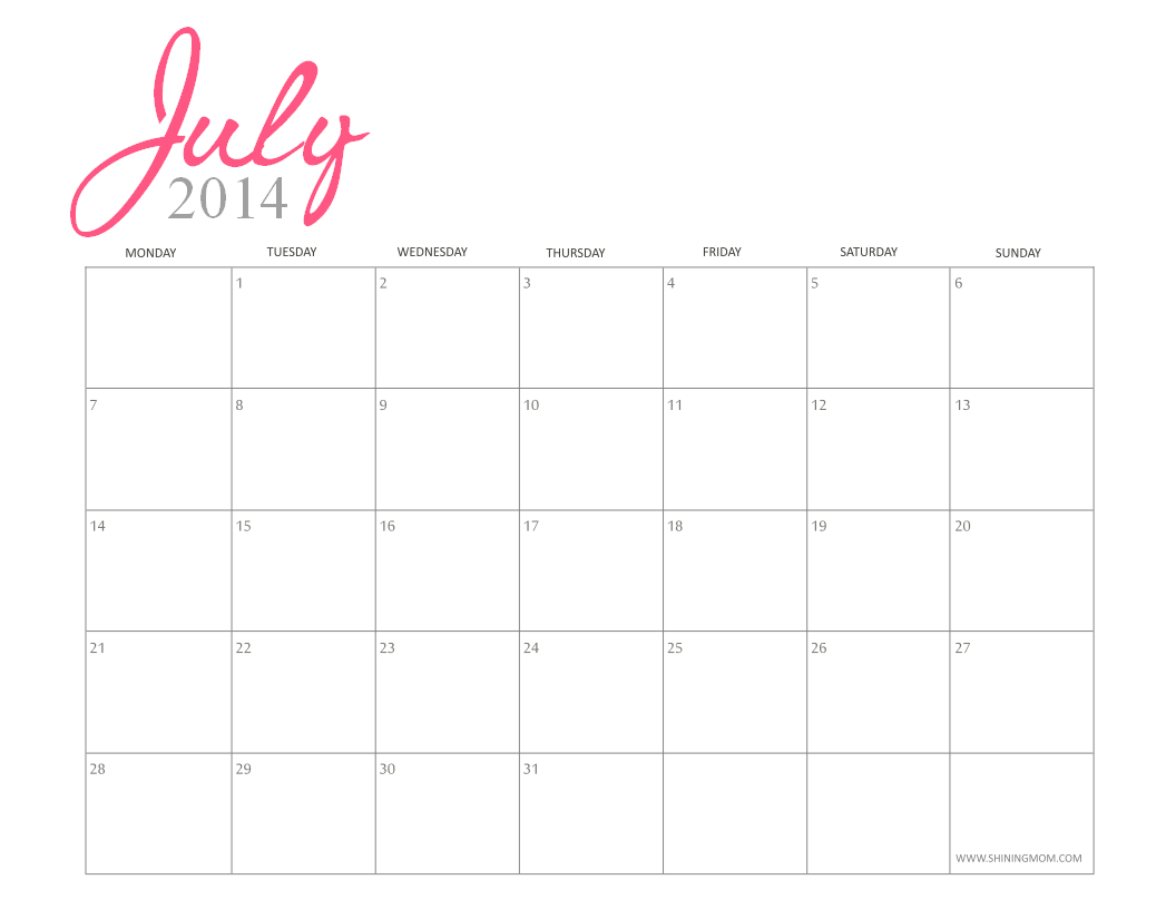 Printable Calendar Girly | Printable Calendar 2019 Calendar 2019 Girly