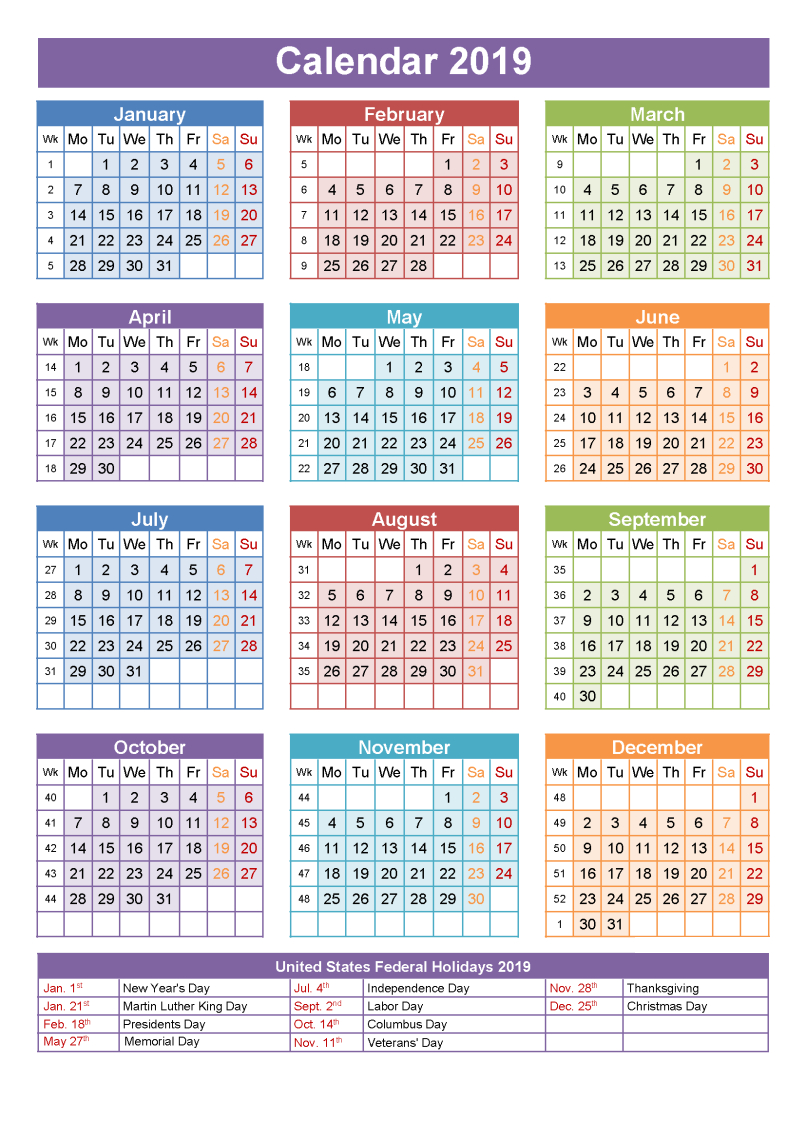 Printable School Calendar 2019 South Africa | Printable Calendar 2019 S A School Calendar 2019