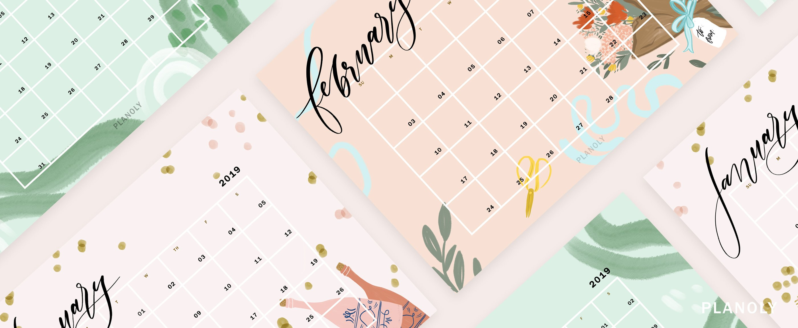 Q1 2019 Content Calendars - Planoly Calendar 2019 Blog