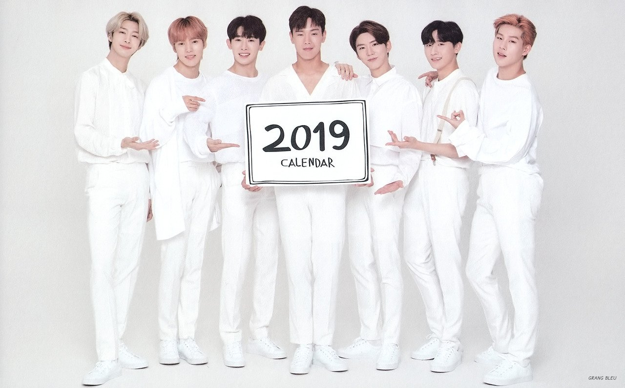 Scan) Monsta X For Tonymoly 2019 Calendar - Monsta X Foto (41731923 Monsta X Calendar 2019