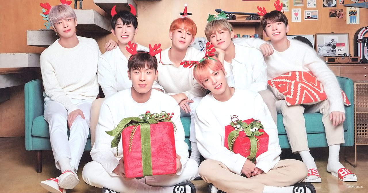 Scan) Monsta X For Tonymoly 2019 Calendar - Monsta X Photo (41731941 Monsta X Calendar 2019