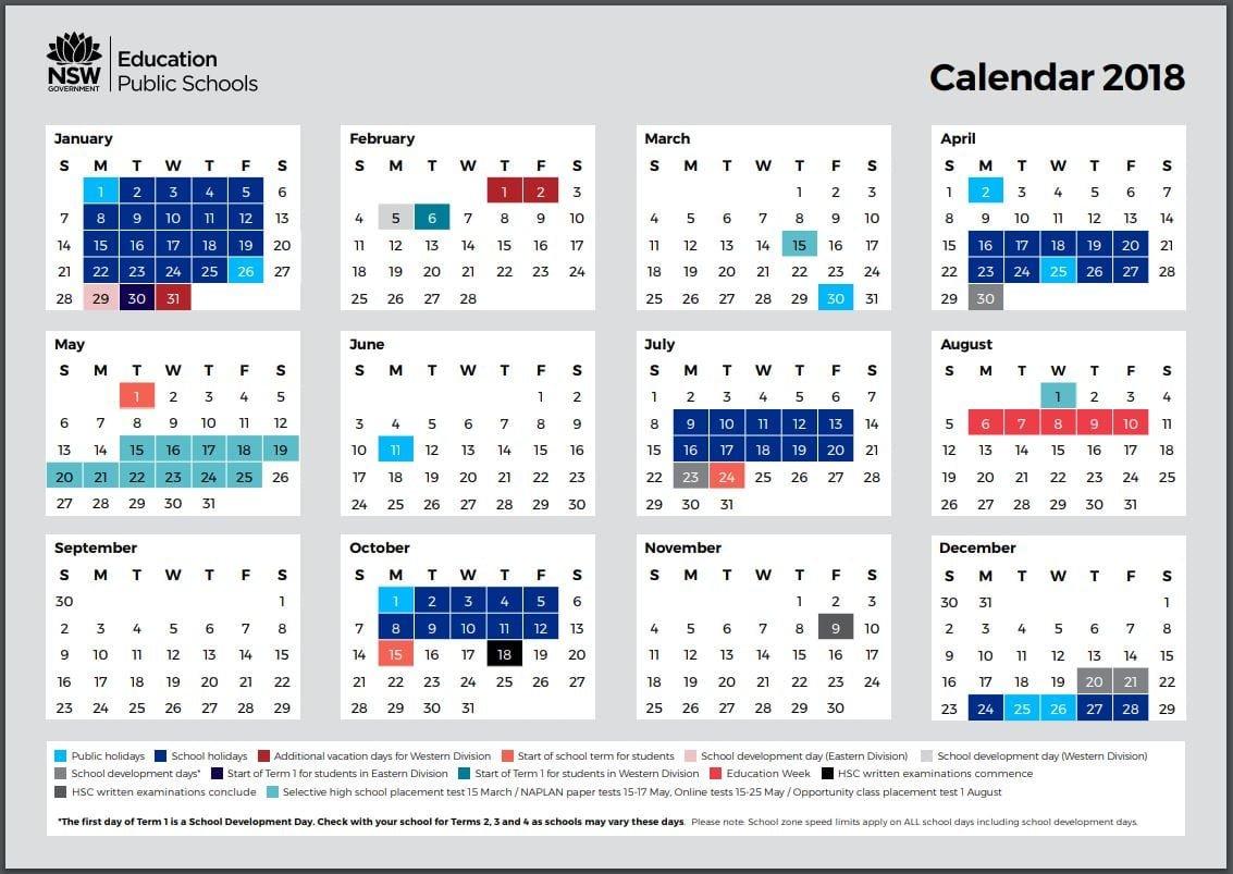 School Holidays – Kidabout 3 Term School Calendar 2019