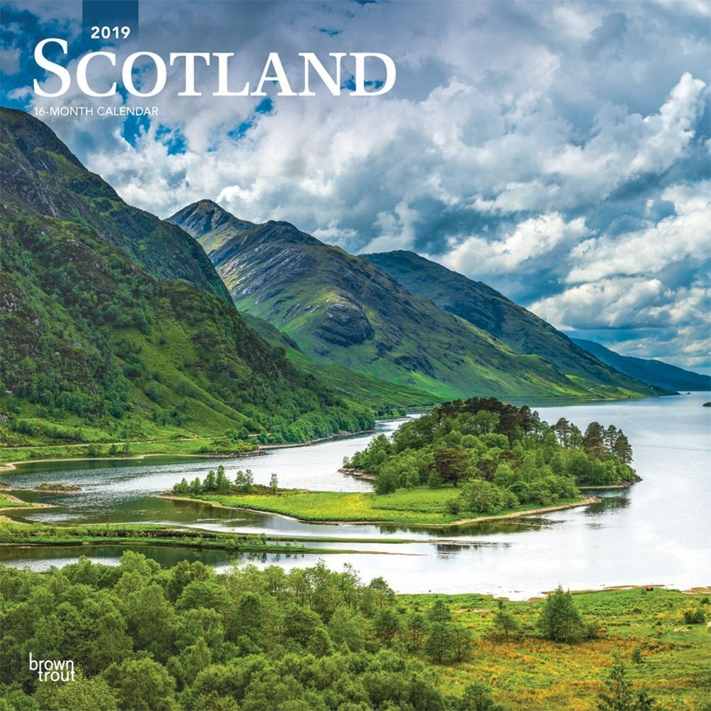 Scotland 2019 Wall Calendar-Calendars-Books & Gifts - Foodsniffr Calendar 2019 Scotland