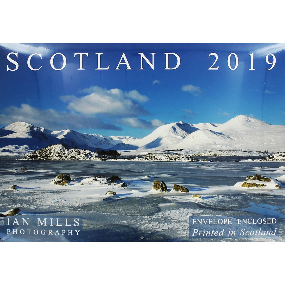 Scotland Landscape Calendar 2019 | 2019 Calendars At The Works Calendar 2019 Scotland