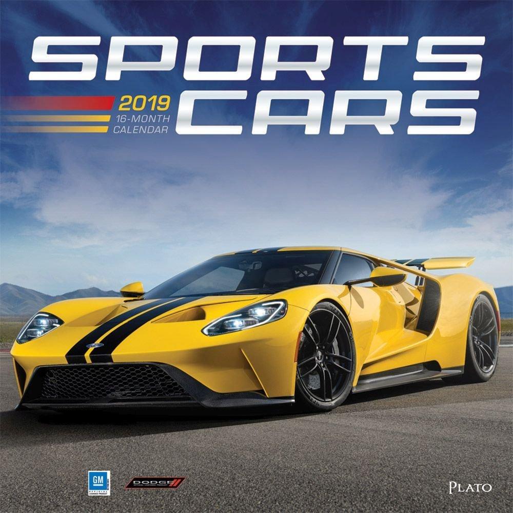 Sports Cars 2019 Wall Calendar-Calendars-Books & Gifts Calendar 2019 Cars
