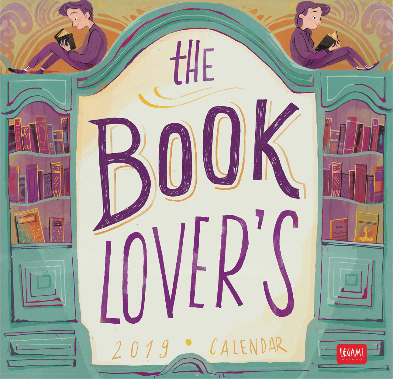 The Book Lover's Calendar 2019 - Flavia Sorrentino Calendar 2019 Book
