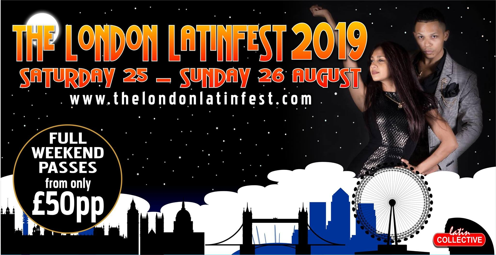 The London Latin Fest (S/b) + Zouk | Sbkeros Zouk Calendar 2019