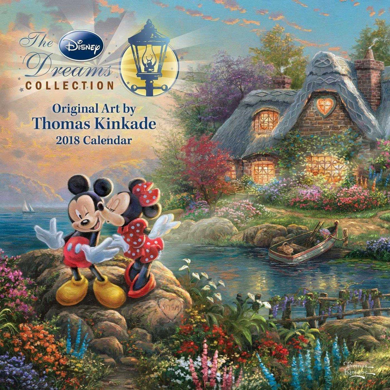 Thomas Kinkade - The Disney Dreams Collection - Calendars 2019 On Calendar 2019 Thomas Kinkade