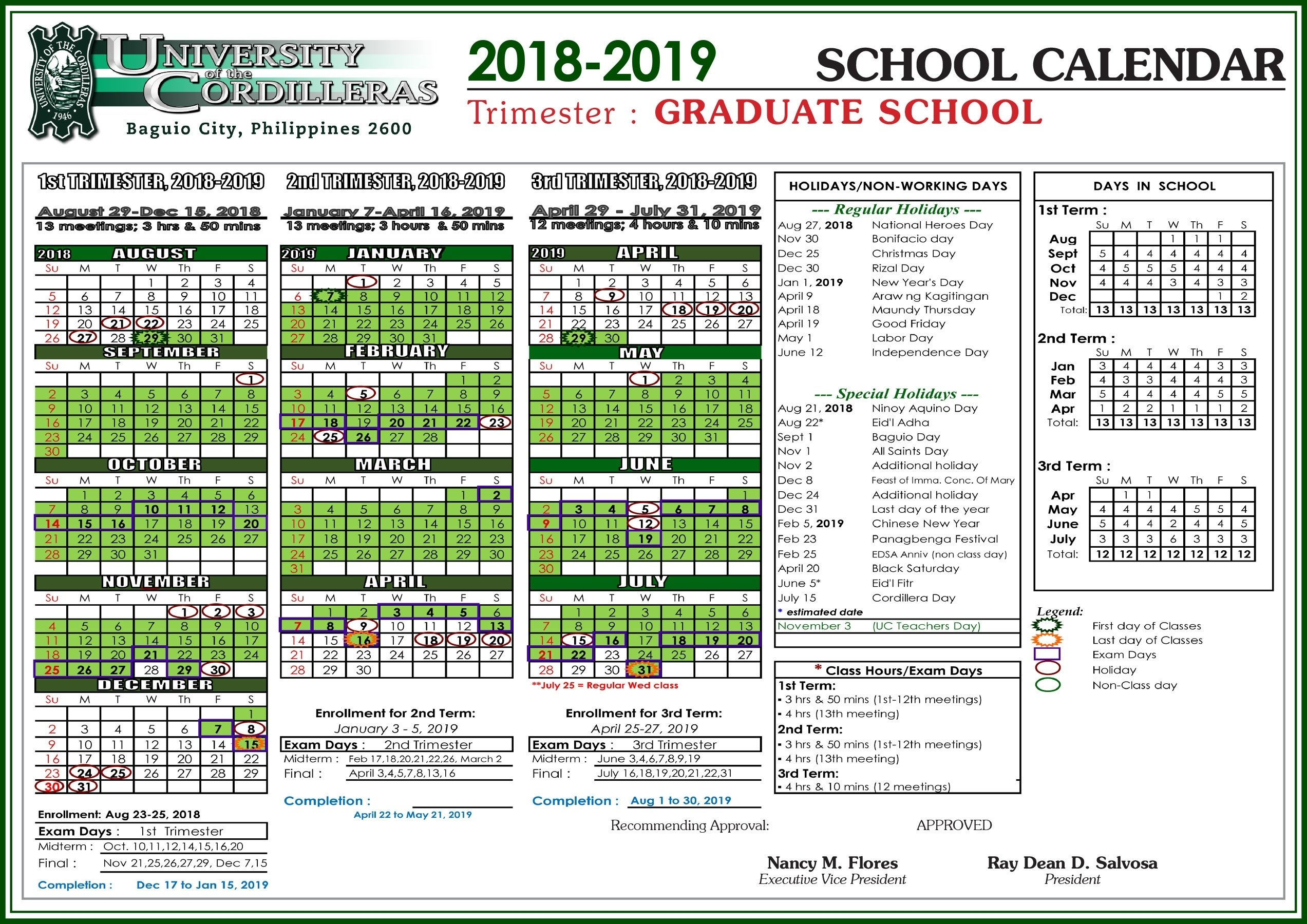 U Of C Calendar Holidays • Printable Blank Calendar Template U Of C Calendar 2019