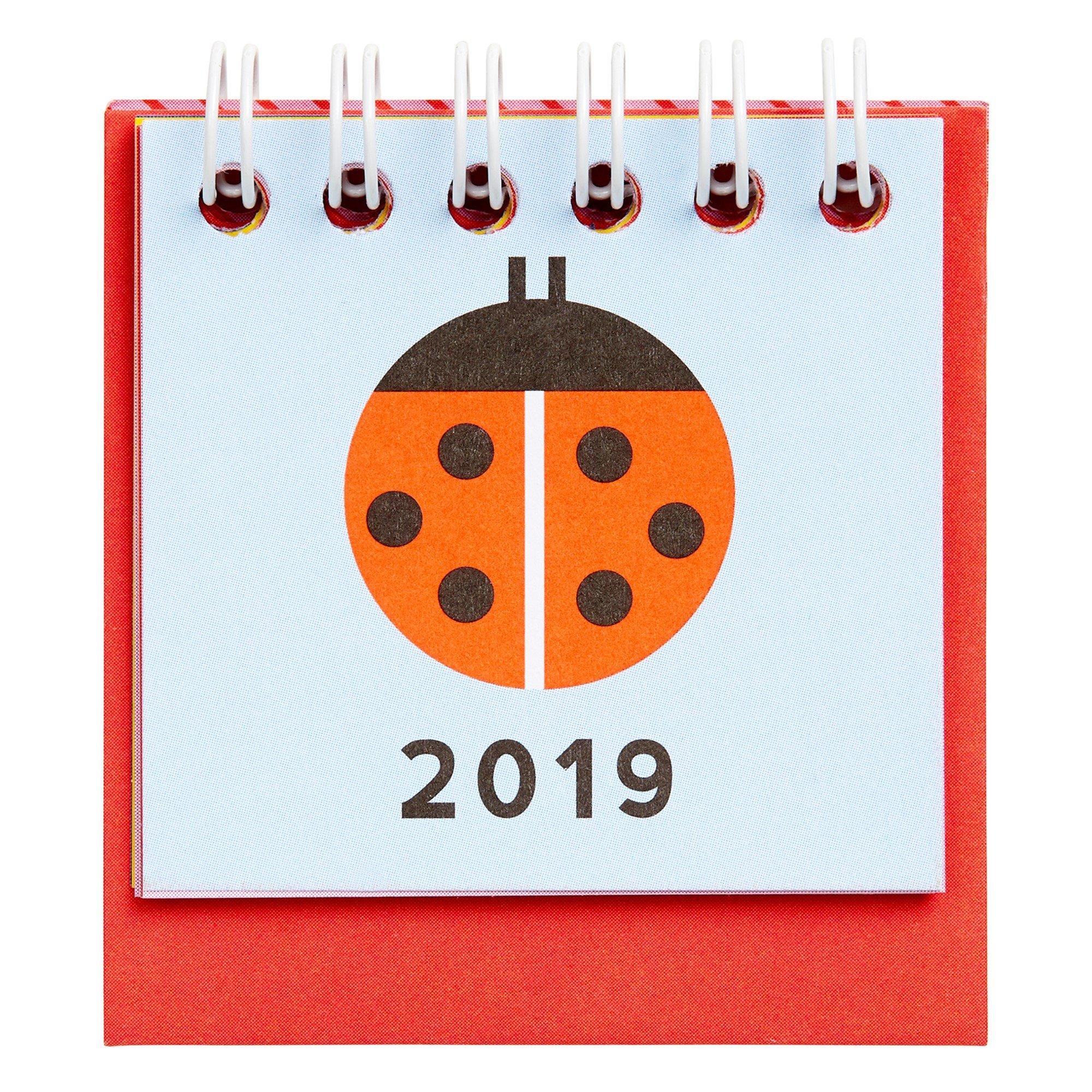 Unishop | Mini Monthly Desk Calendar Kikki K - Kikki.k - Merchandise Kikki K Desk Calendar 2019
