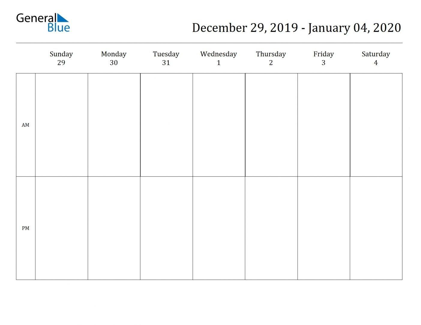 2 Week Blank Calendar 2020 Printable Di 2020 (Dengan Gambar) Two Weeks In May Calendar