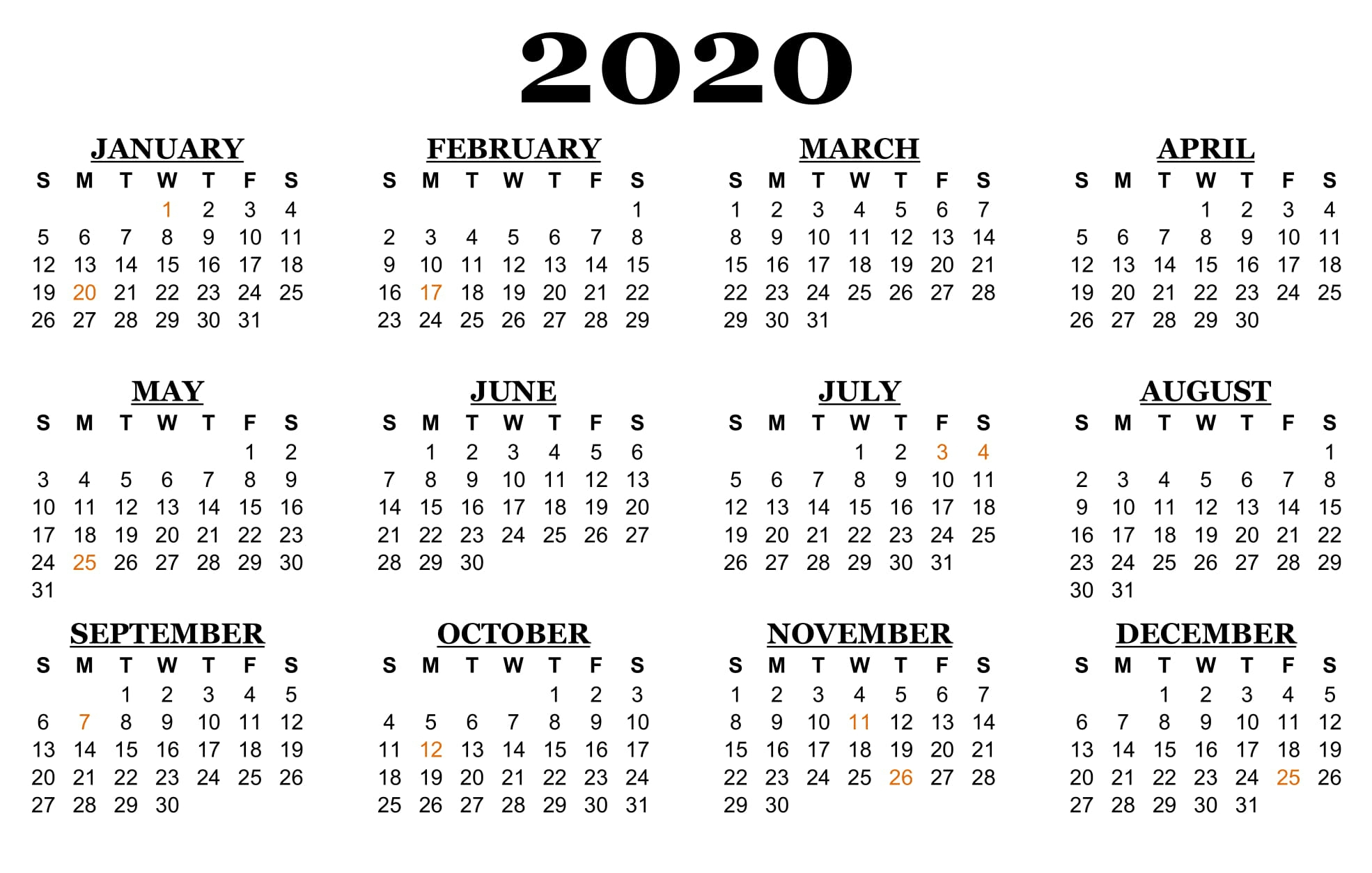 2020 Calendar With Nsw School Holidays | Free Calendar Printable Calenders With Date And Time On 8 1/2 X 11 Paper