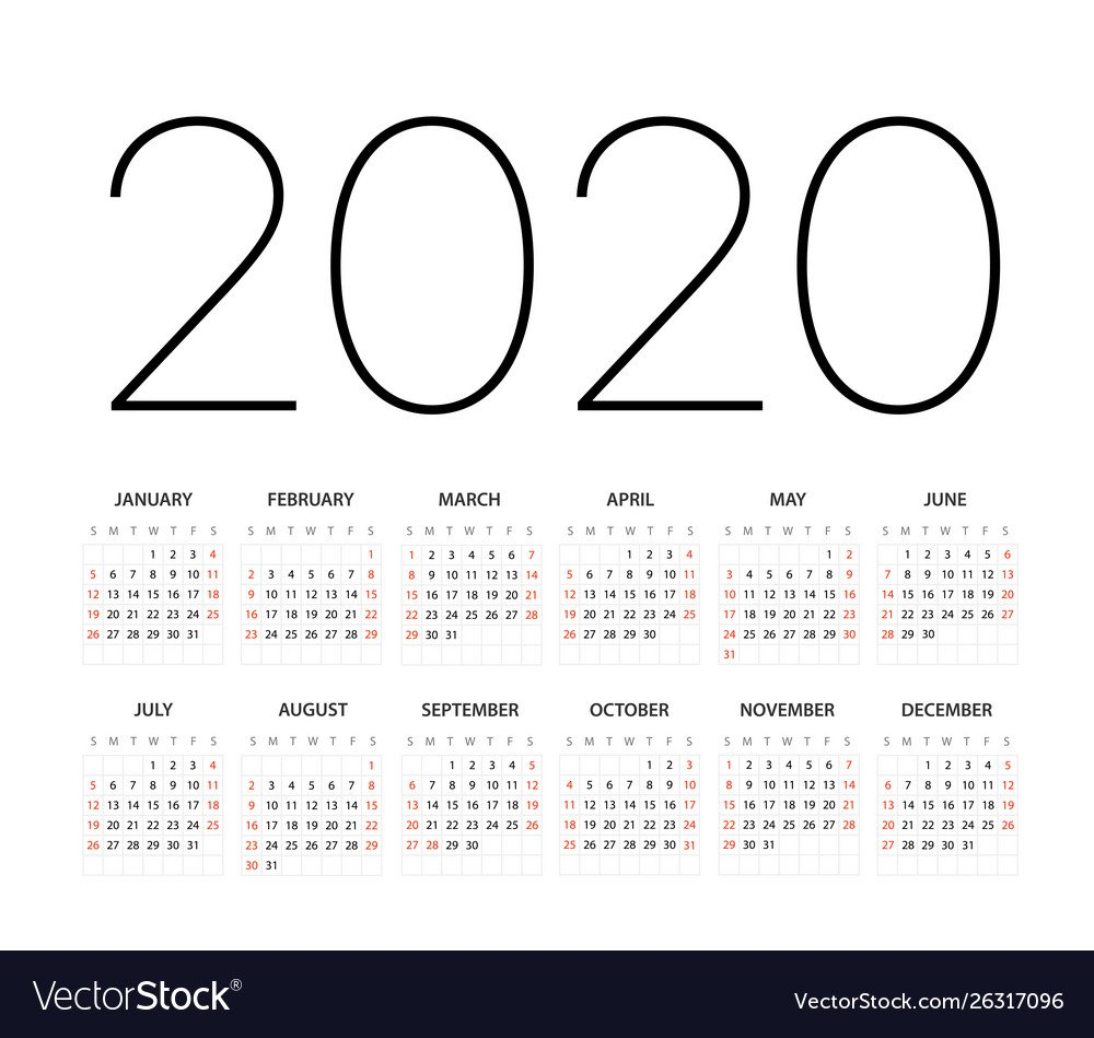 2020 Calendar You Can Edit | Calendar Printables Free Templates Calendar That You Can Edit