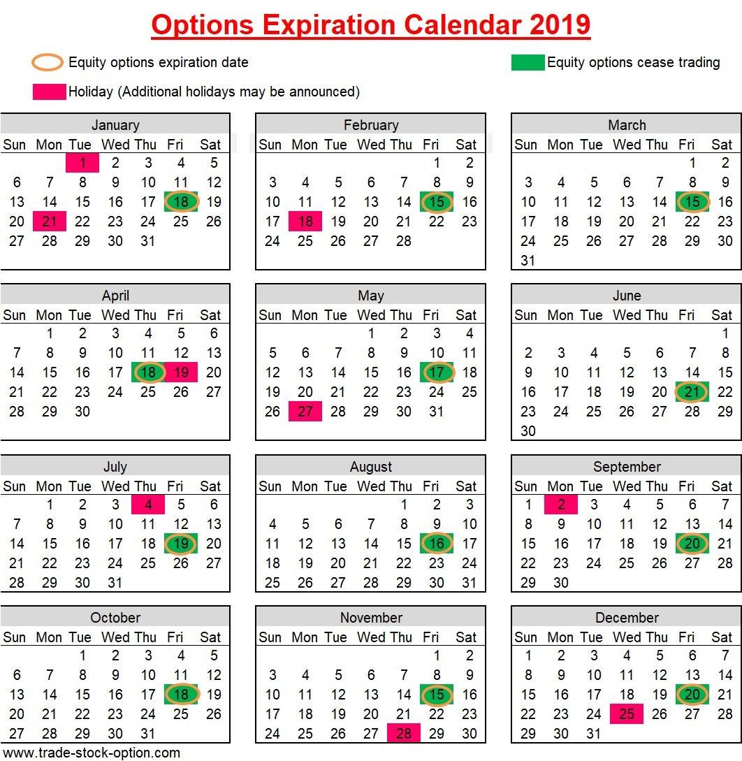 28 Day Calendar 2019 – Samyysandra 28 Day Calendar Expiration