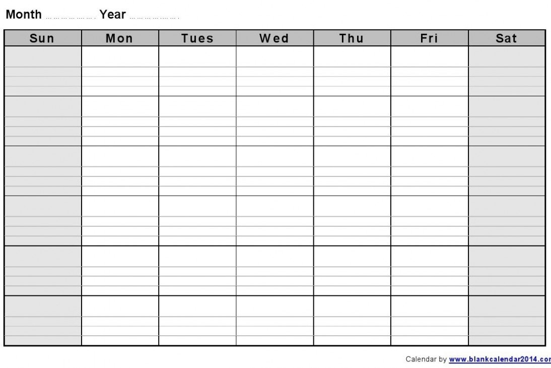 4 Secrets About 4 Week Calendar Template That Has Never Been 4 Week Calendar Printable