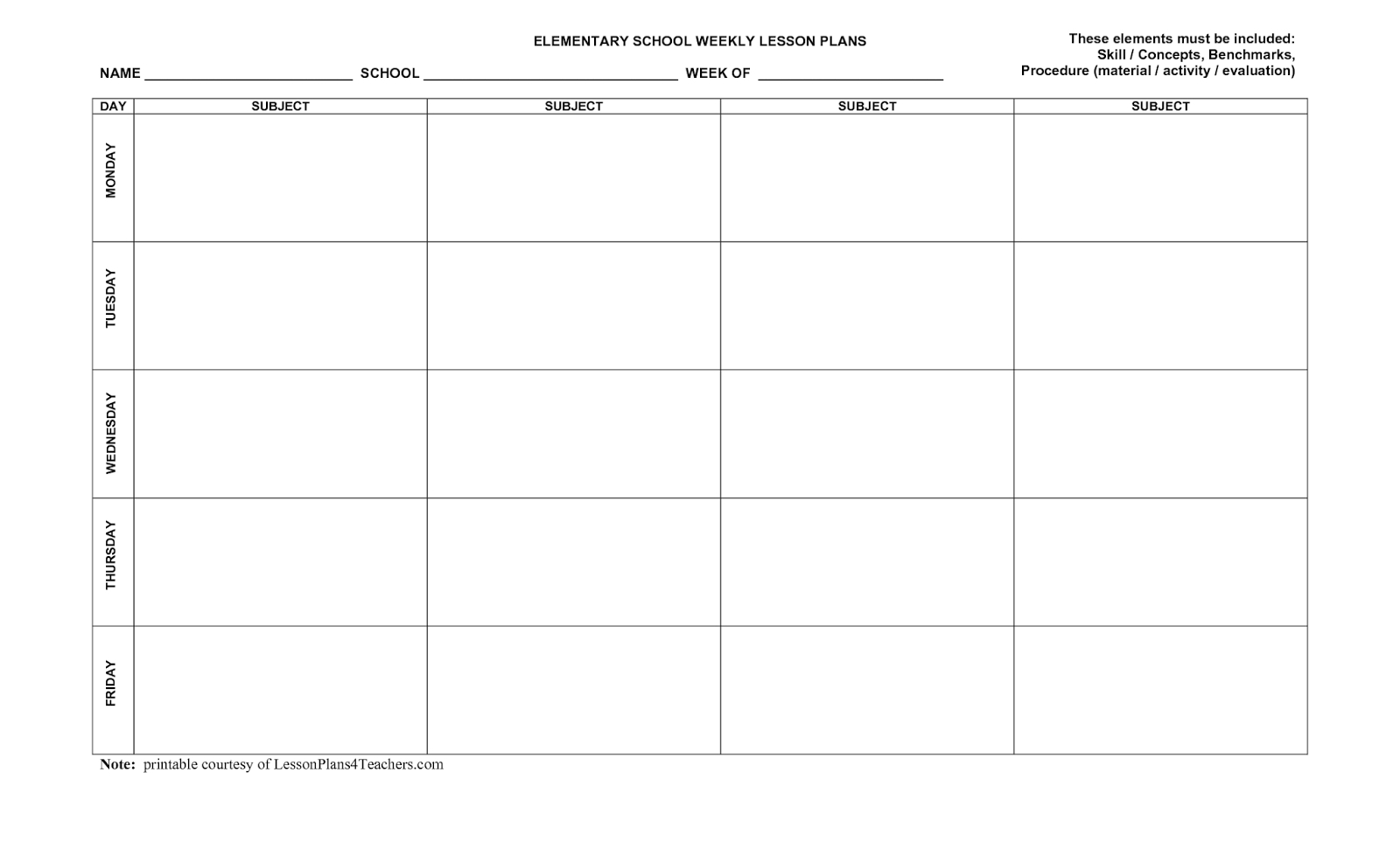5 Day Printable Monthly Calendar | Monthly Calendar Blank 2020 5 Day Calendar Template