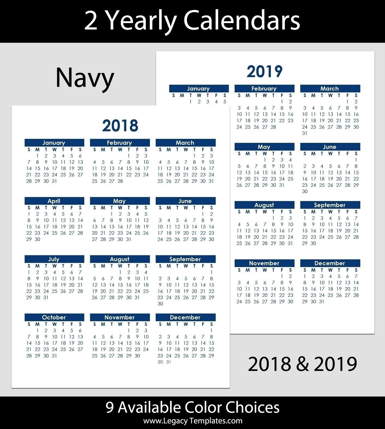 8.5 X 14 Calendar Template • Printable Blank Calendar 8.5 X 14 Calendar