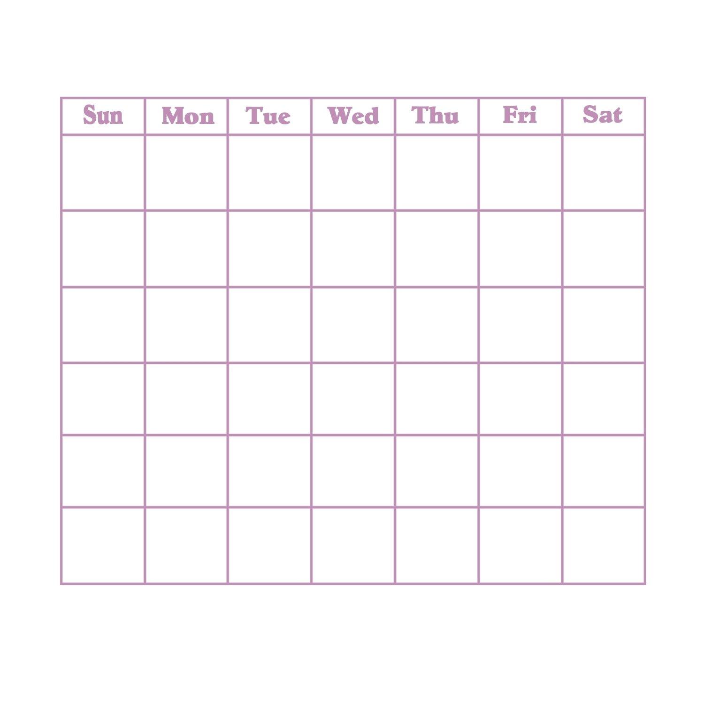 Blank 31 Day Calendar | Calendar Template 2019-Blank 31 Day Calendar Templates