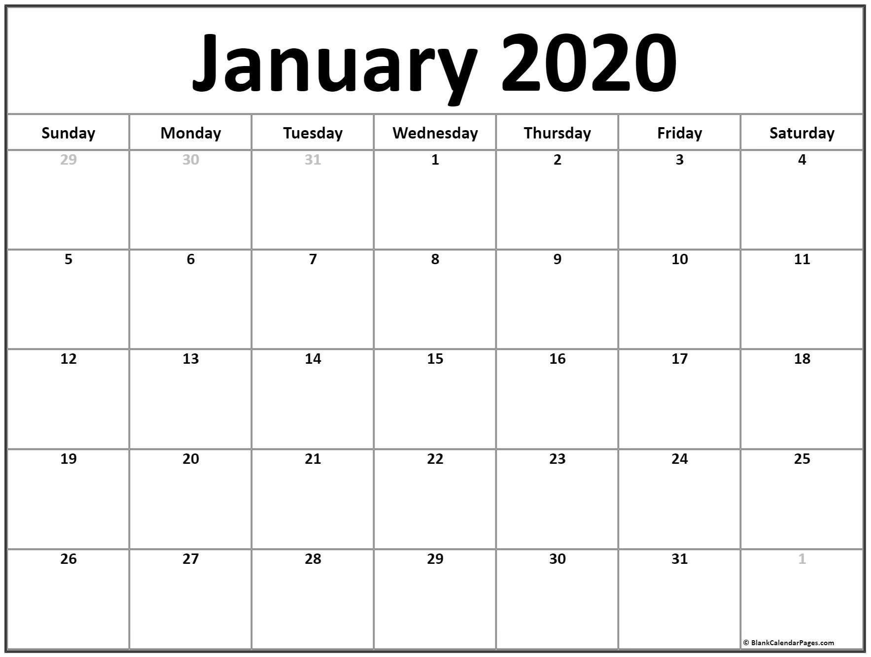 Blank Monthly Calendar Printable 8.5 X 11 | Monthly Free 8 1/2 By 11 Blank Calendar