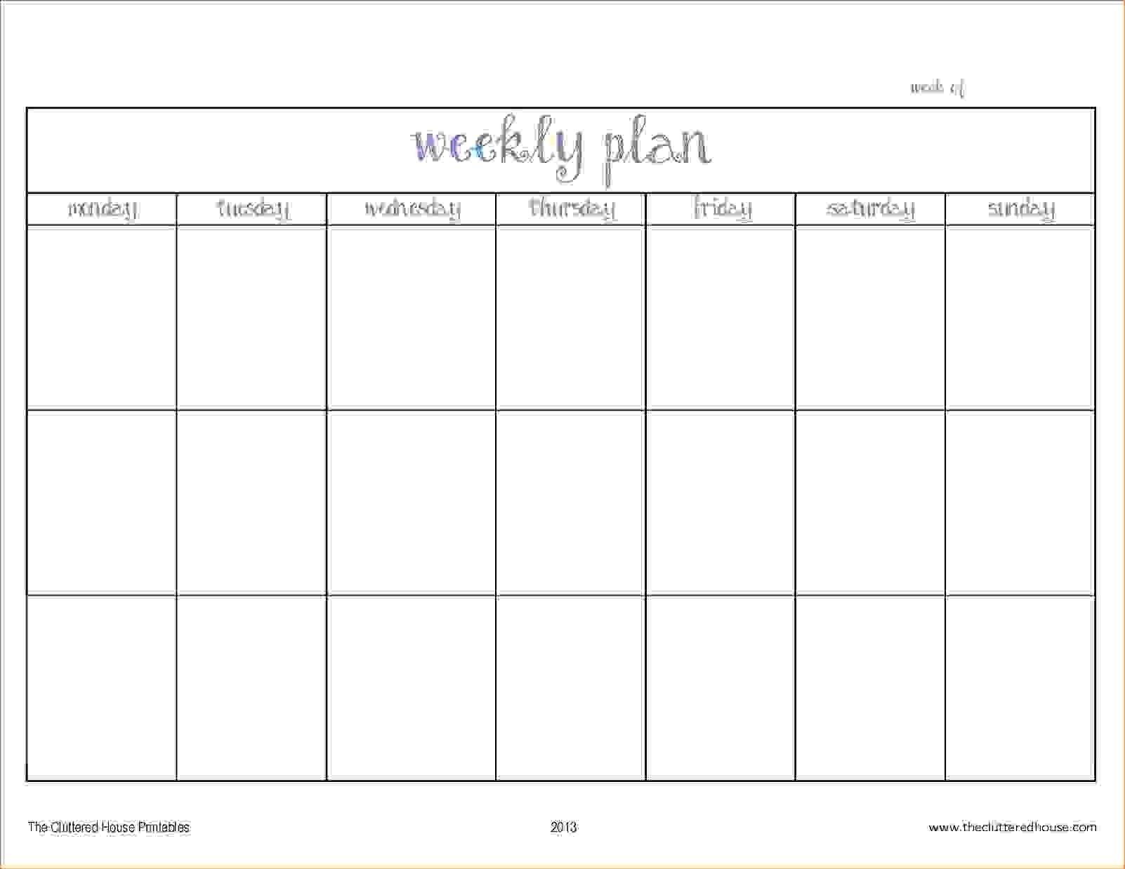 Blank Two Week Schedule Template | Free Calendar Template Free Printable Task Two Week Calendar