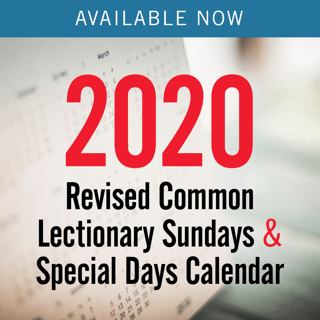 Discipleship Ministries | 2020 Revised Common Lectionary Methodist Parament Colors Calendar