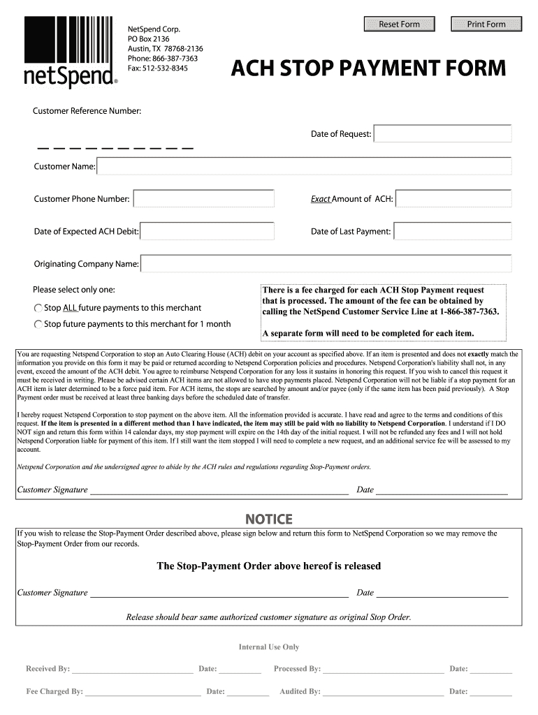 Documents Netspend - Fill Out And Sign Printable Pdf Template | Signnow Netspend Ssi Expected Dates