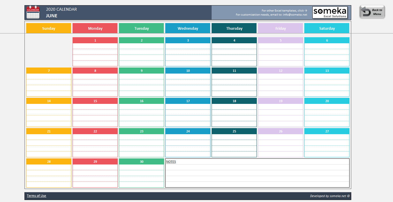 Excel Calendar Template Annual Training Calendar Template Excel