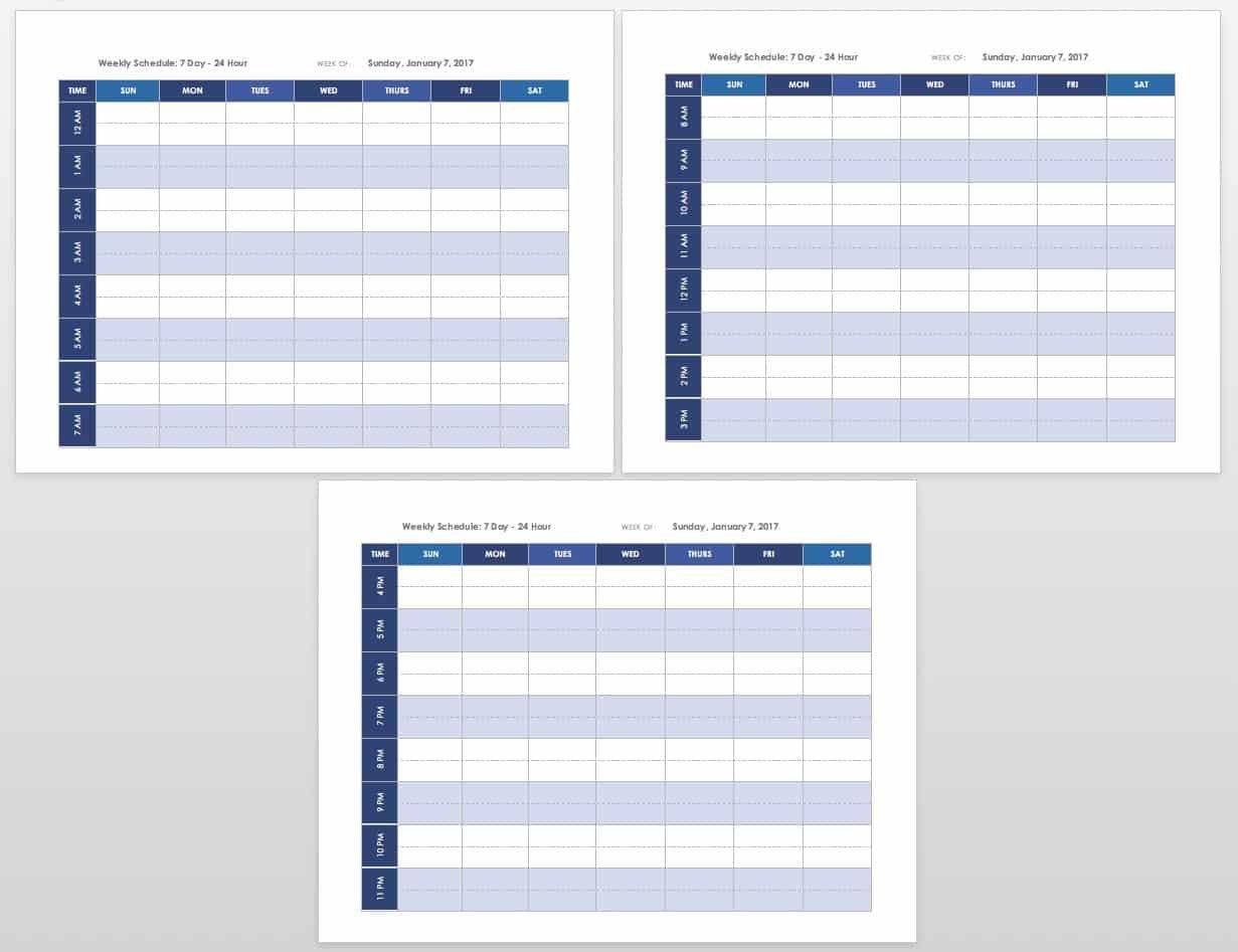 Free Blank Calendar Templates - Smartsheet Free Printable Church Calendar Templates