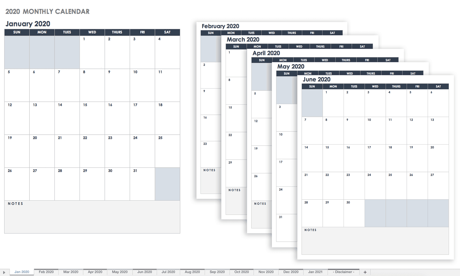 Free Google Calendar Templates | Smartsheet Calendar Sign Up Sheet Template