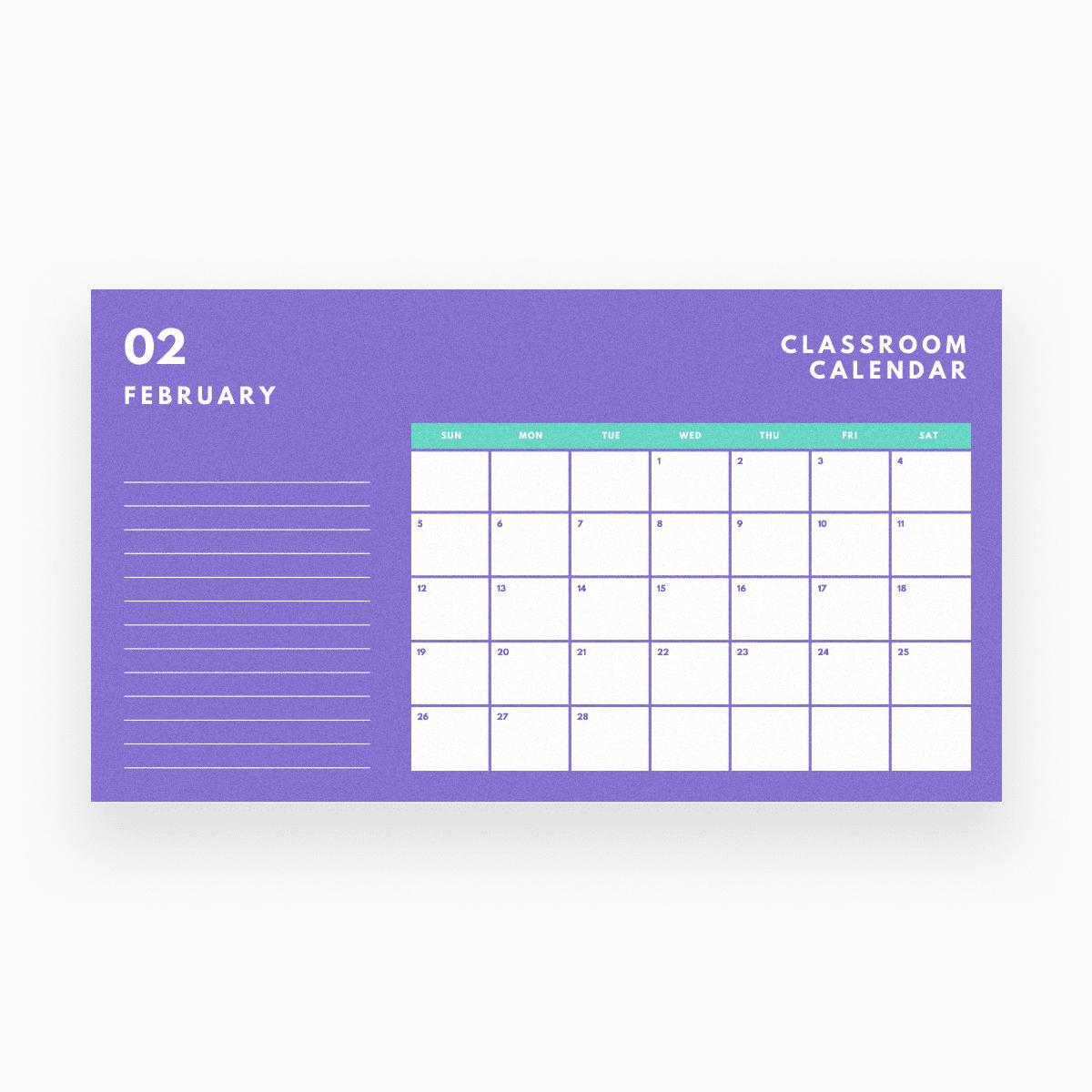 Free Online Calendar Maker: Design A Custom Calendar - Canva Fre Fill In Online Calendars