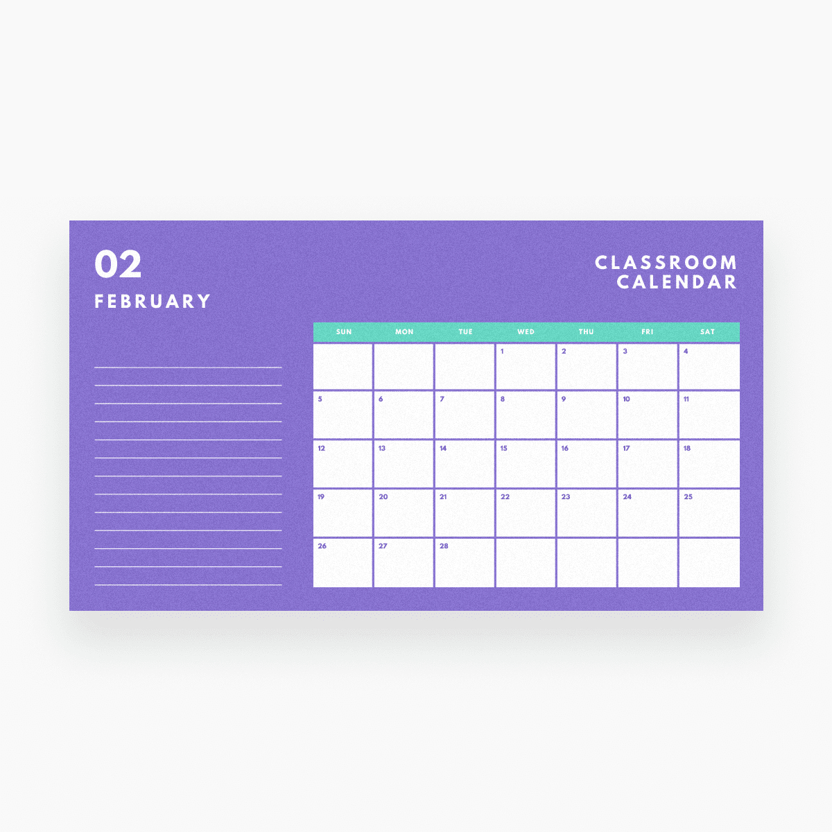 Free Online Calendar Maker: Design A Custom Calendar - Canva Free Calendar To Edit And Save