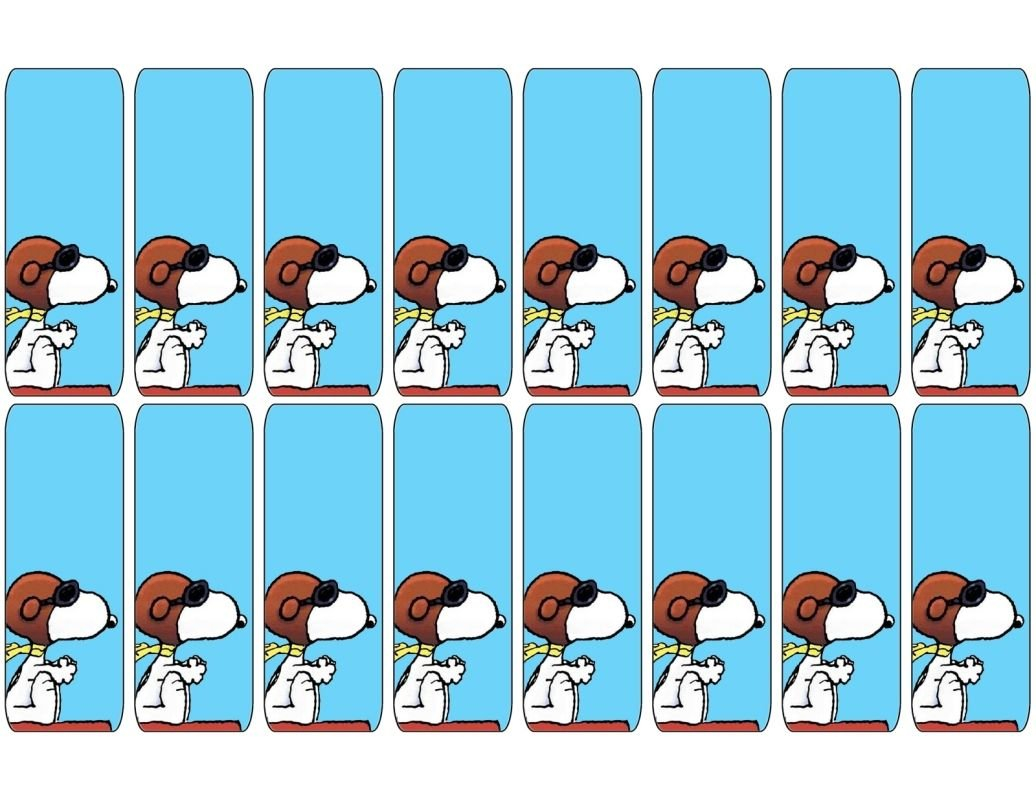 Free Printable Bookmarks. Free To Use And Free To Share For Free Printable Snoopy Template