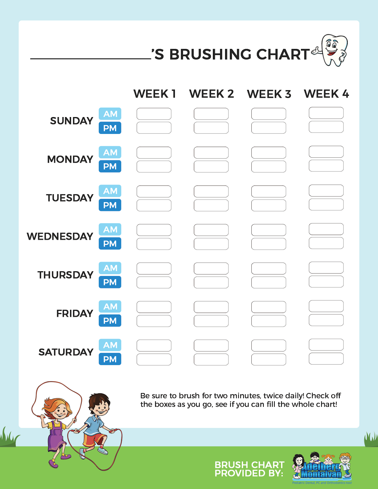 How To Create A Summer Routine - Adelberg Montalvan Create A Chart From Monday To Friday