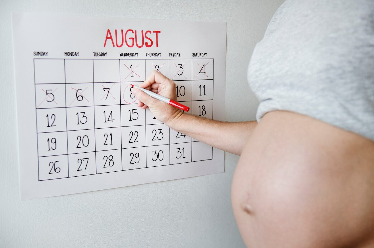 Inclusive Due Date Calculator · Growing Season Guess The Due Date Calendar