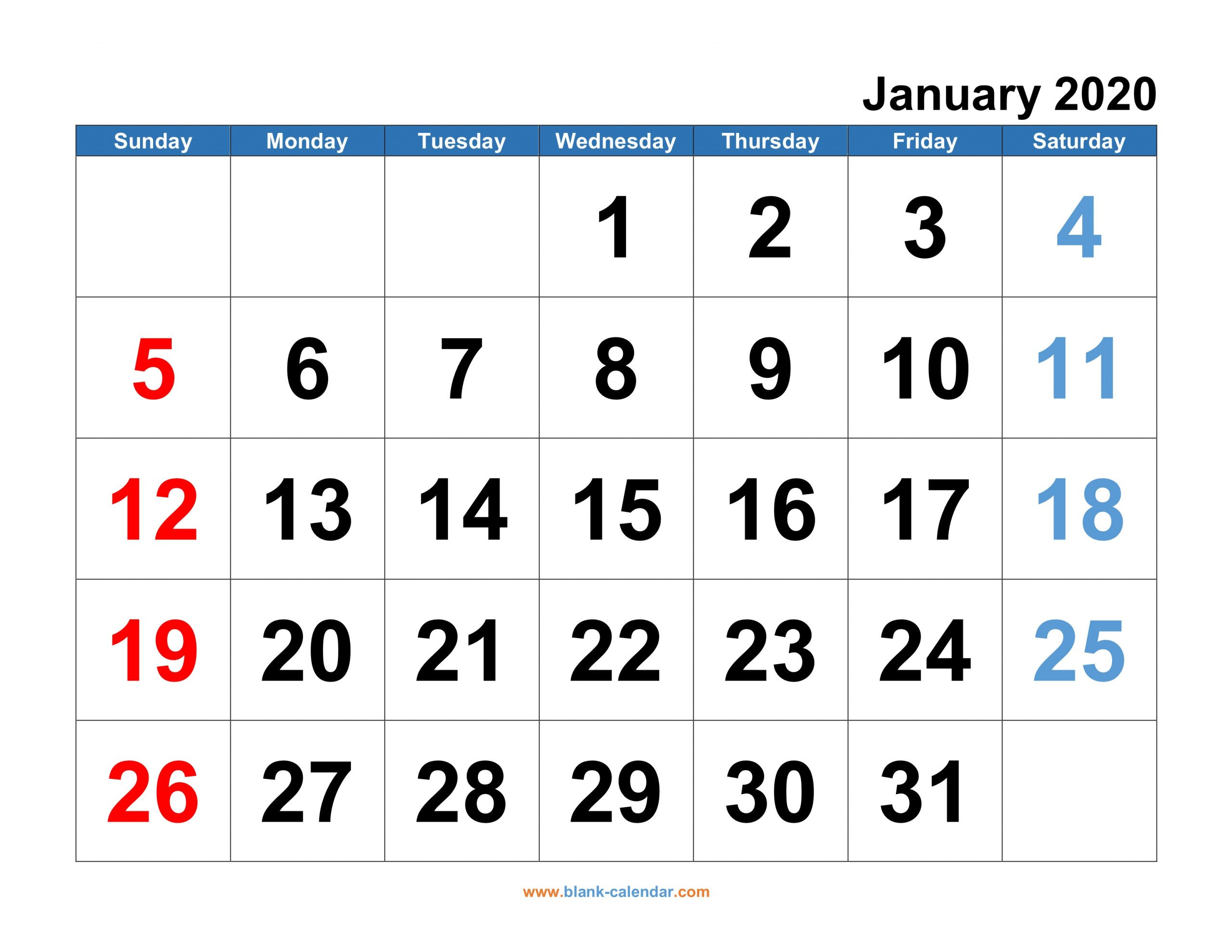 Monthly Calendar 2020 | Free Download, Editable And I Need A Monthly Calendar That I Can Edit