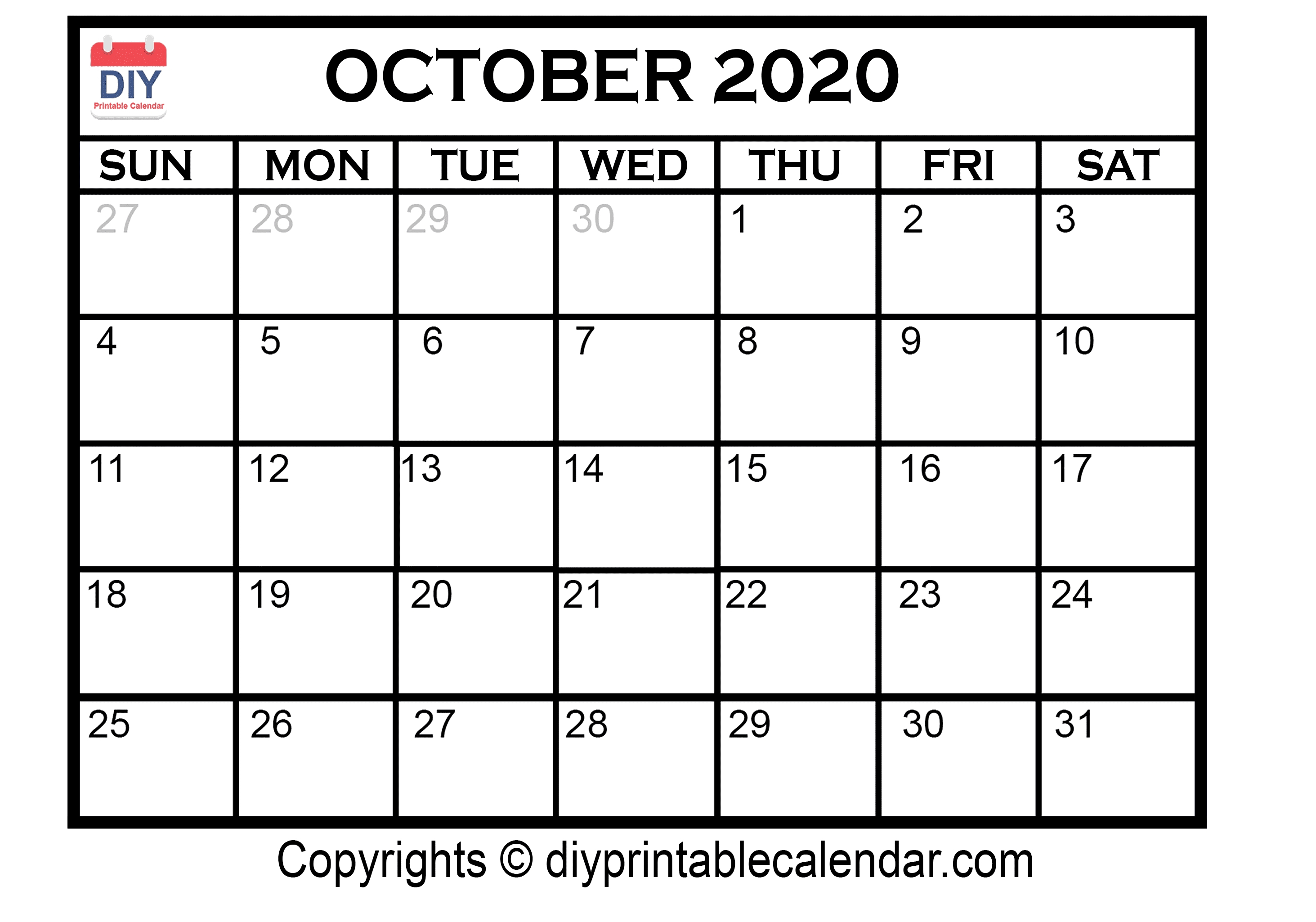 Monthly Calendar That Can Be Edited | Monthly Printable Calender Calendar That Can Be Edited