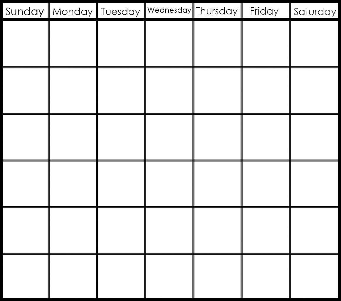 Printable 6 Week Calendar Printable 2 Week Calendar Planner Print A 2 Week Calendar