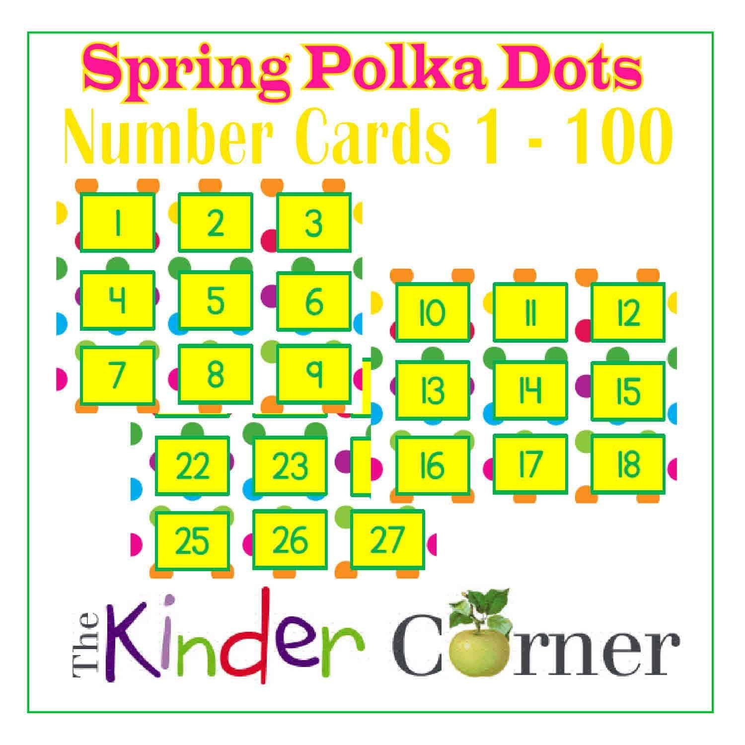 Printable Spring Number Cards 1 31 – Samyysandra Calendar Numbers 1-31 For Spring