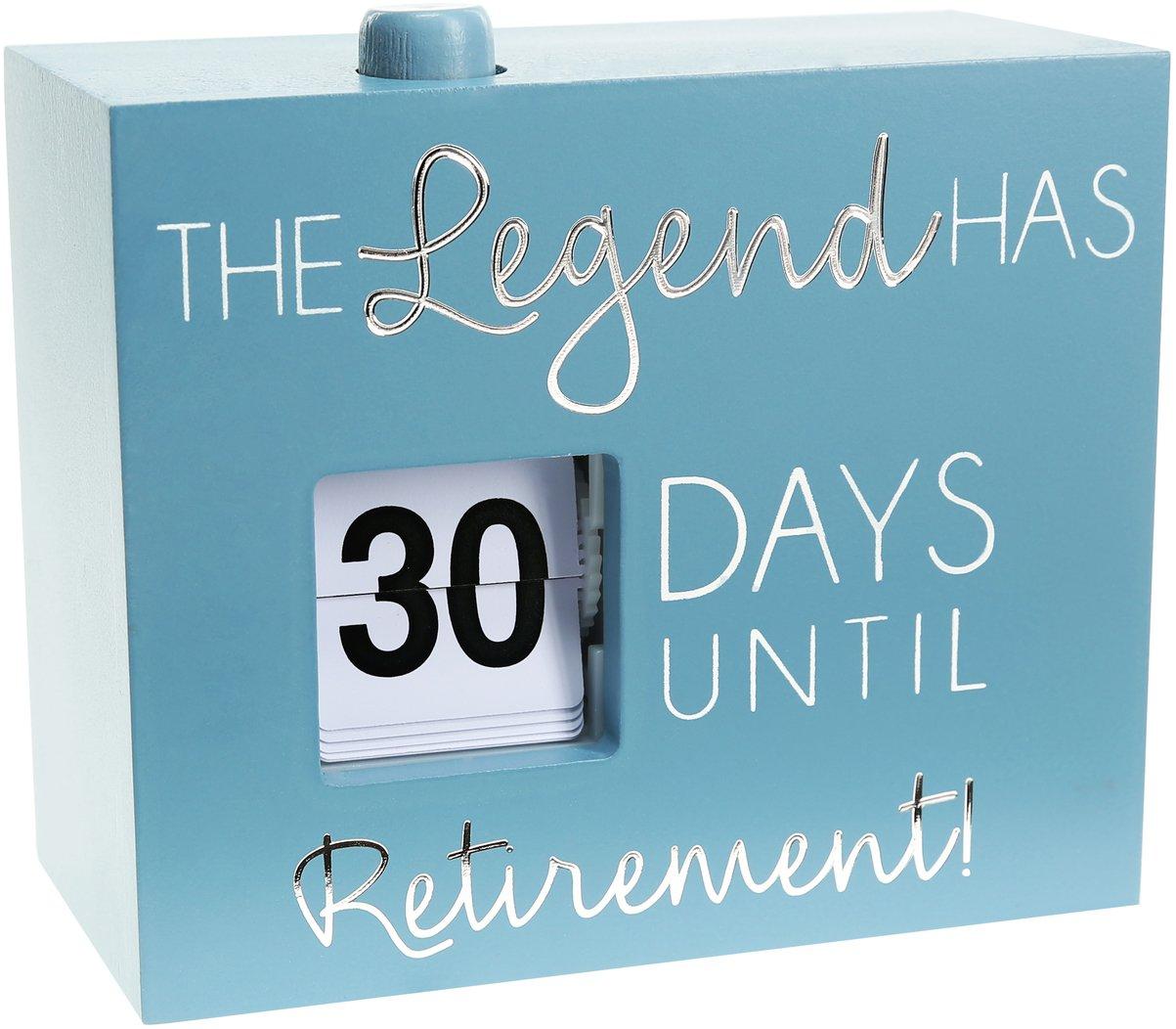"Retirement - 4.5"" Countdown Calendar Countdown To Retirement Calendar"