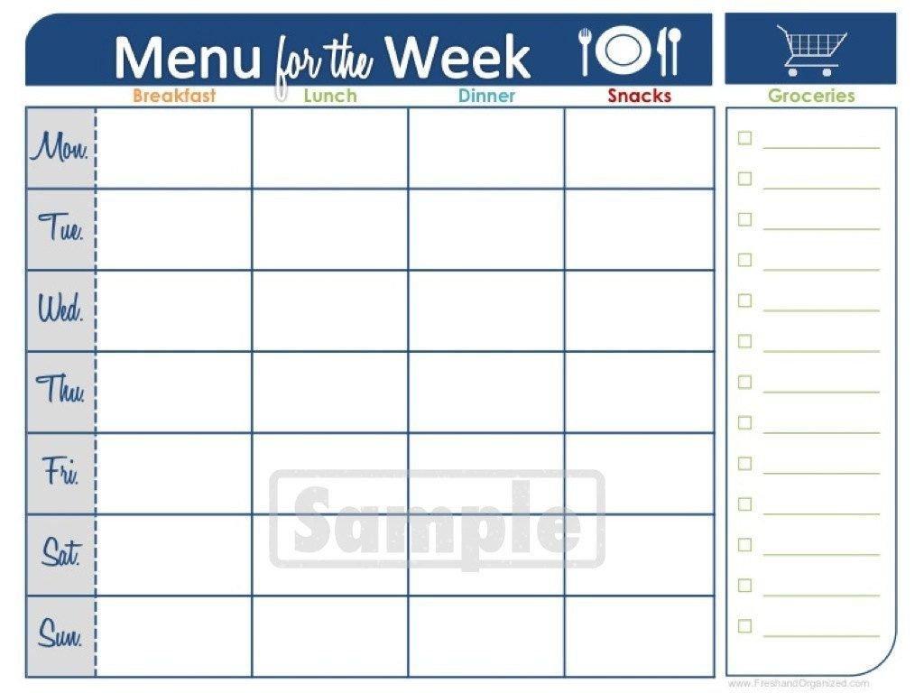 Two Week Printable Calendar | Meal Planner Printable, Weekly Two Week Printable Calendar