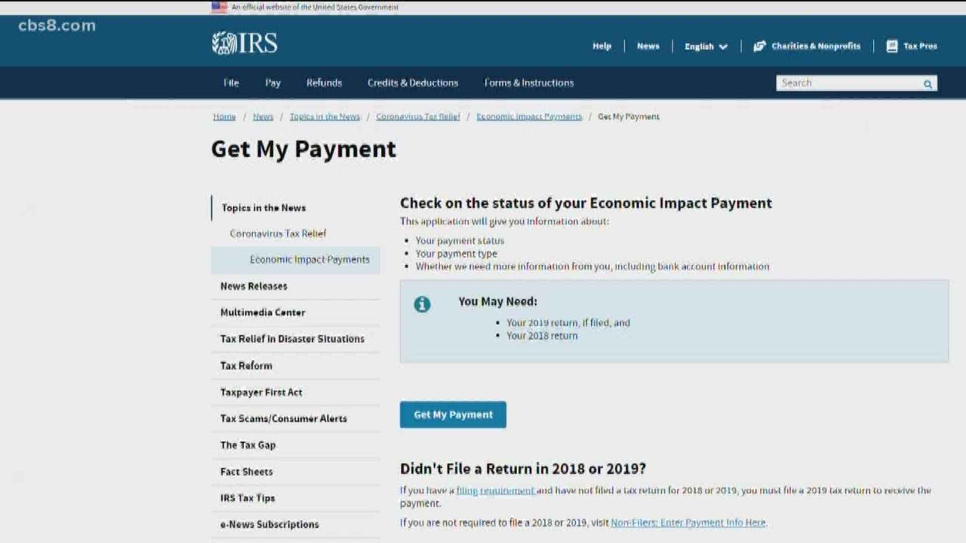 When Will You Get Your Stimulus Check? Irs Launches Tracking Tool Irs Stimulus Check Tracking