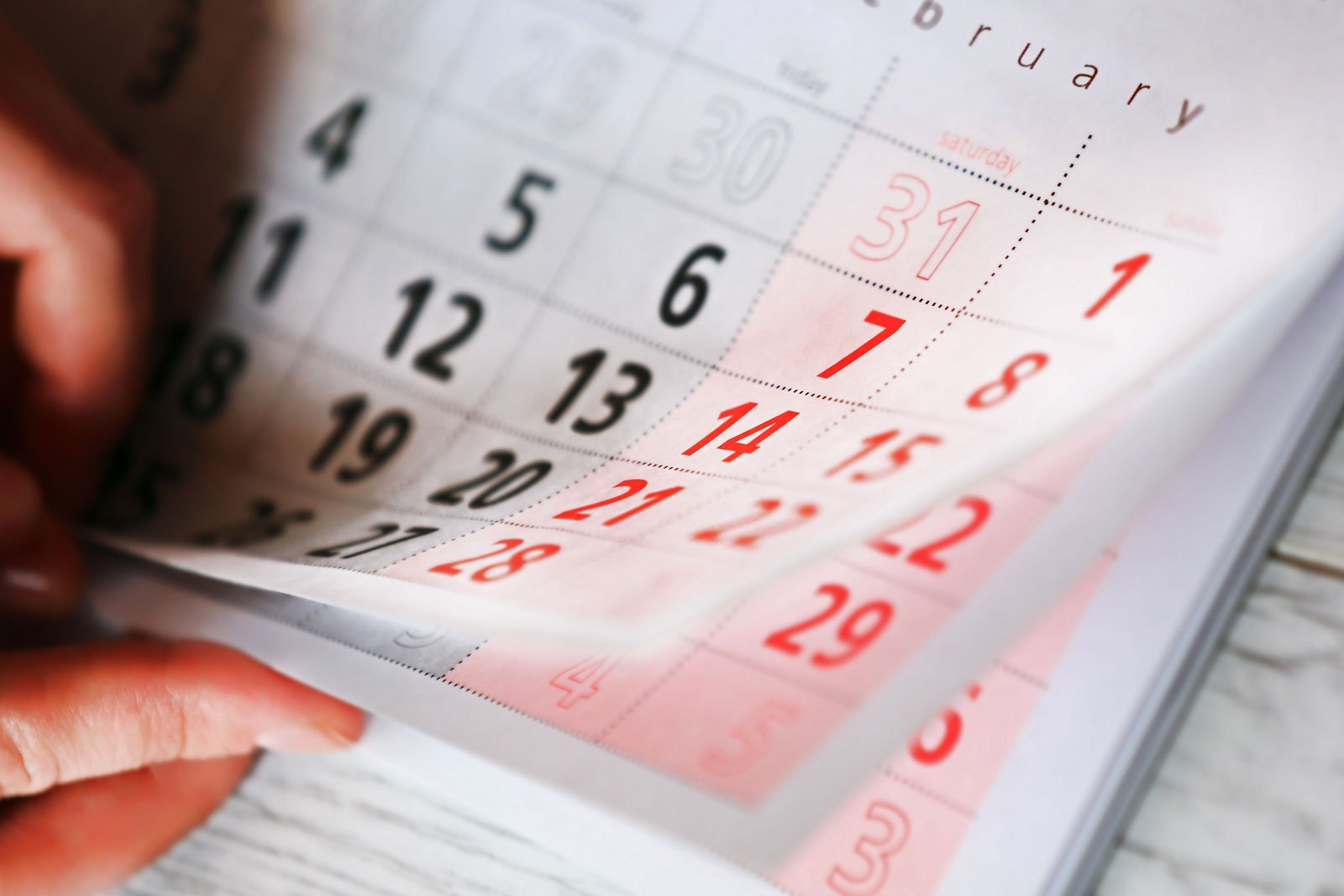 Why Are There Only 28 Days In February? | Britannica 6 Month Short Timer Calandr