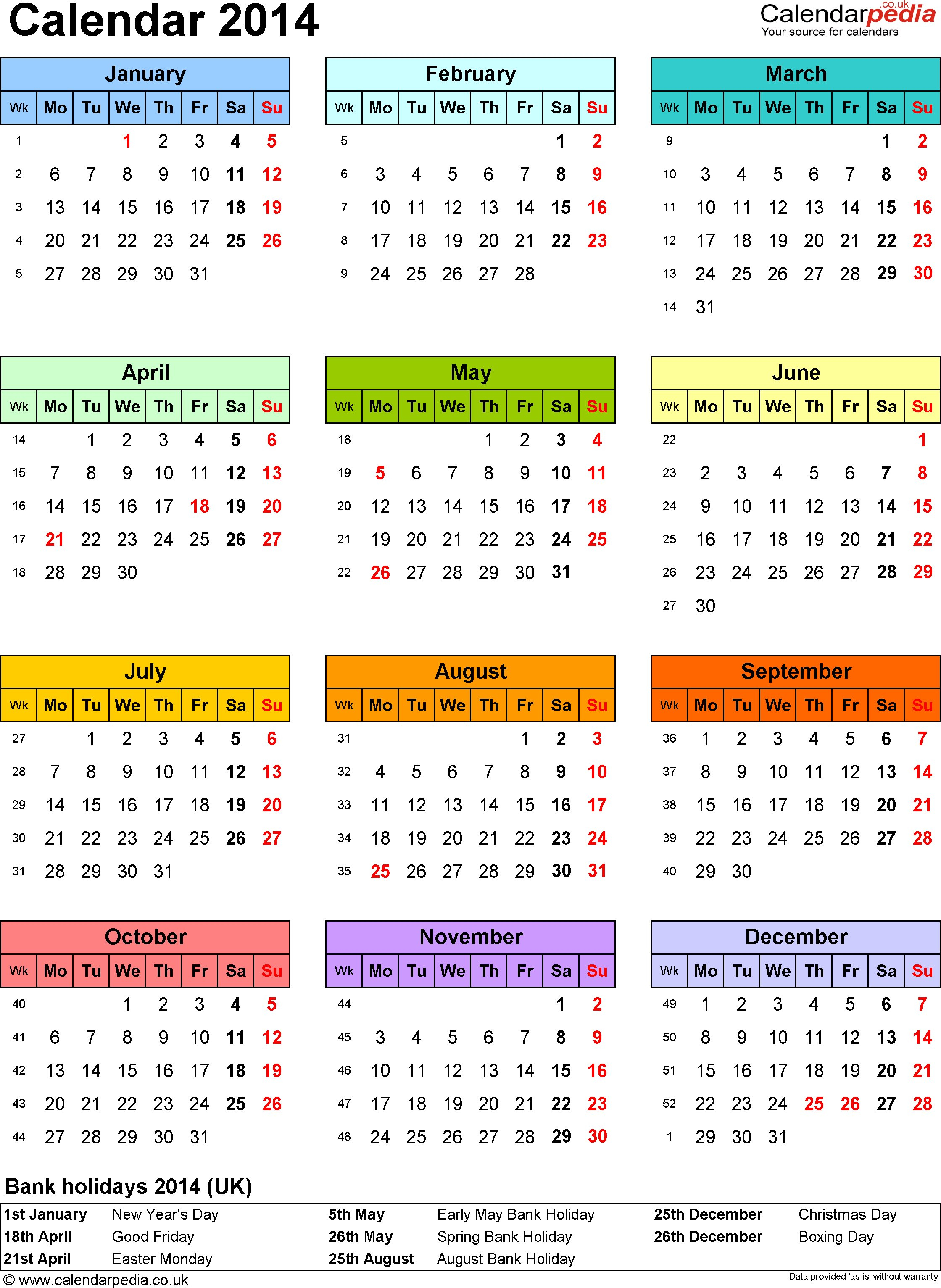 Yearly Calendar A4 | Templates Free Printable Hr Calendar For The Year