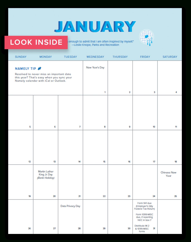 Your 2020 Hr Calendar Hr Calendar For The Year