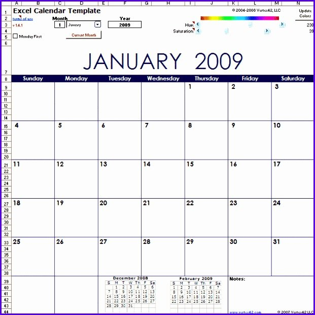10 Year Calendar Template Excel - Excel Templates - Excel 5 Year Schedule Excel