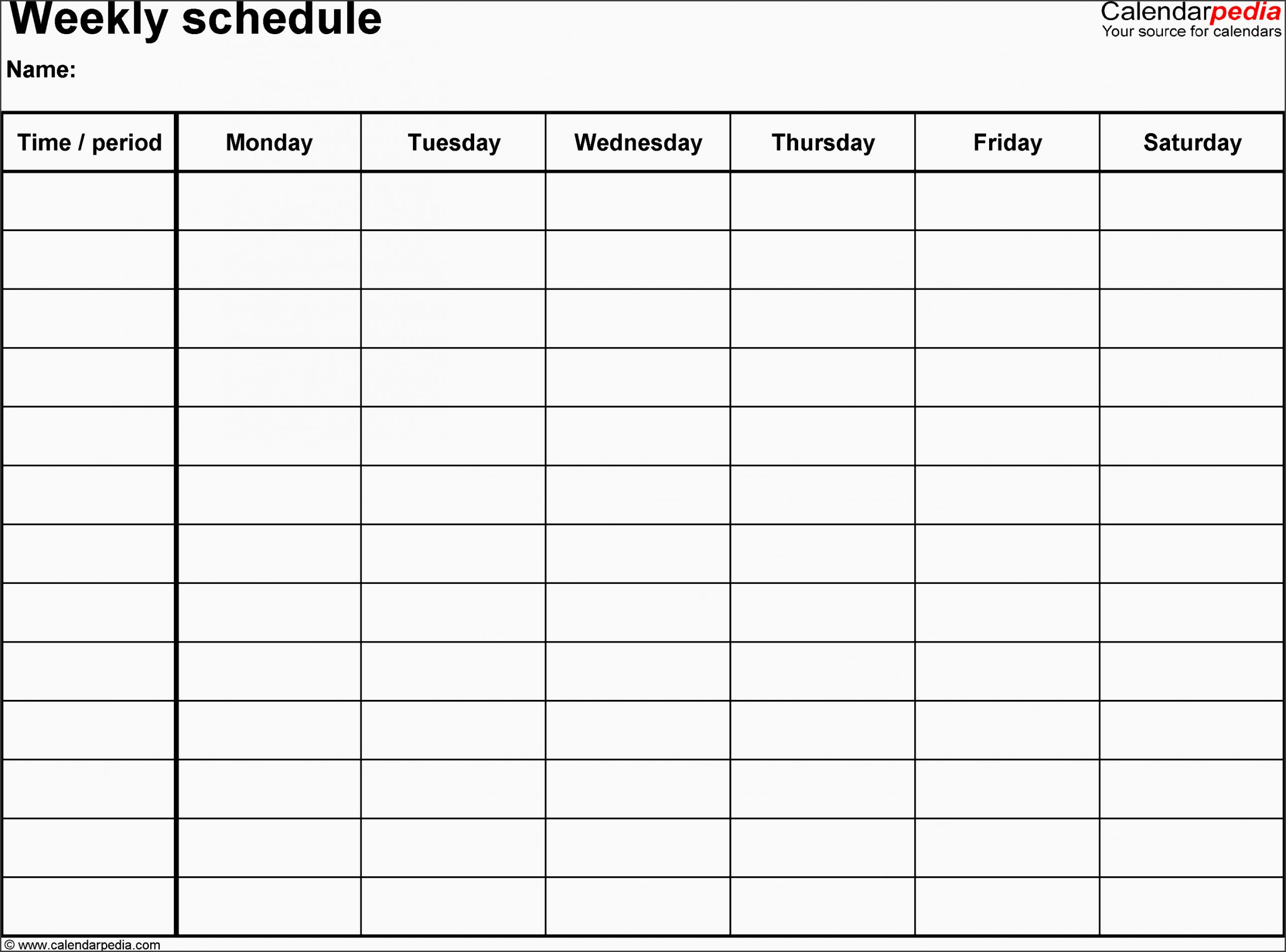 11 Employee Daily Planner Template - Sampletemplatess 8 Week Calendar Doc