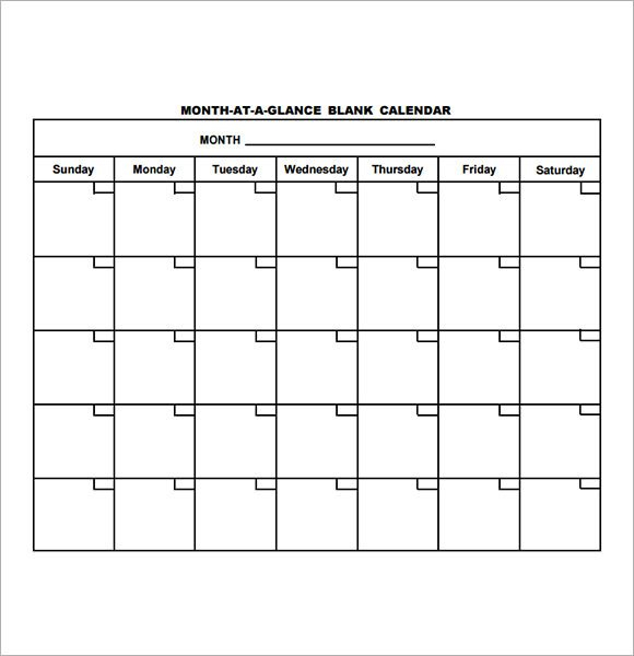 12 Sample Annual Calendar Templates To Download | Sample Sunday Thru Saturday Schedule Layout